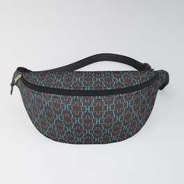Abstract geometric surface  / The L pattern 1 Fanny Pack