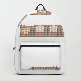 Architectural projects, 3d models of buildings Backpack