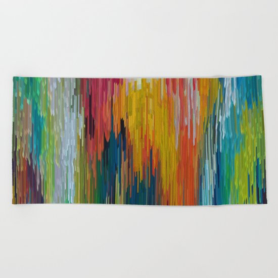 Abstract painting 112 Beach Towel