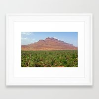 morocco Framed Art Prints featuring Morocco by dora-isa