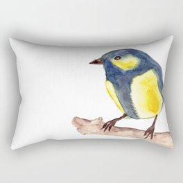 Blue Pinzon Rectangular Pillow