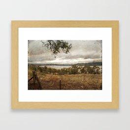 Lake Barrendong Framed Art Print