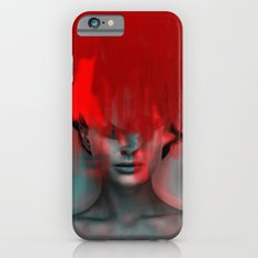 Red Head Woman Slim Case iPhone 6