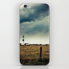 Lighthouse of Kampen II iPhone Skin