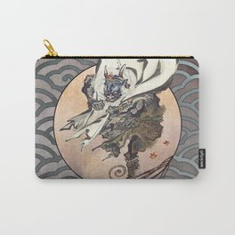 Kawanabe Kyosai Fujin God of the Wind Carry-All Pouch
