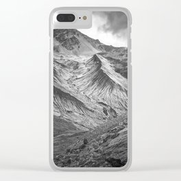 South Tyrol, Italian Mountains Landscape Clear iPhone Case