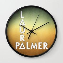 Bastille - Laura Palmer #2 Wall Clock