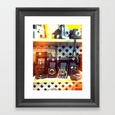 Camera Shop Framed Art Print