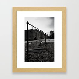 Old School Yard #1 Framed Art Print
