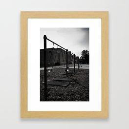 Old School Yard #1 Framed Art Print
