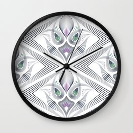 Art Deco 36 . Mystery 2. Wall Clock