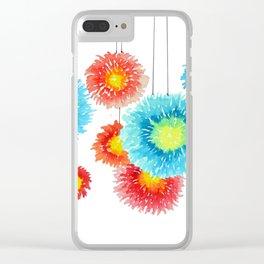 Flower garland Clear iPhone Case