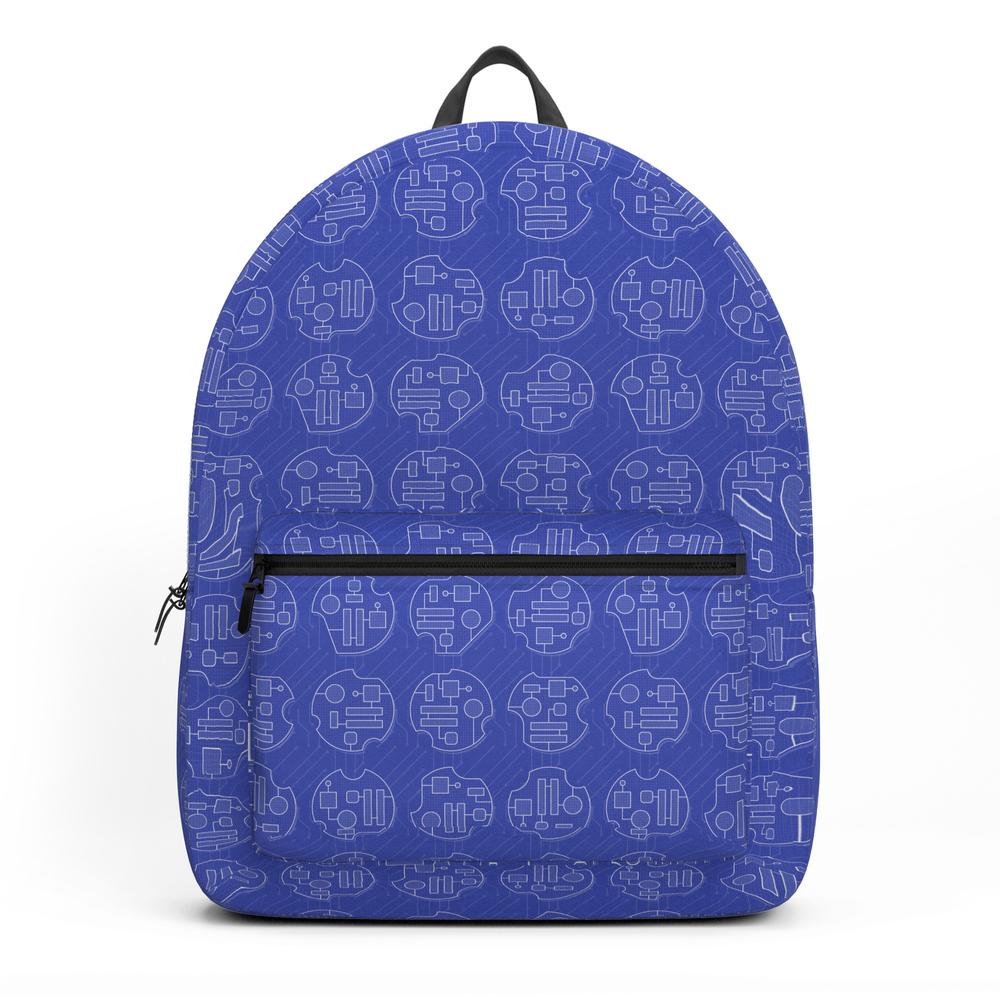 Pattern Electronics Backpack by luisemebe