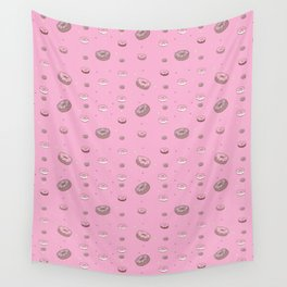 I love doughnuts! Wall Tapestry