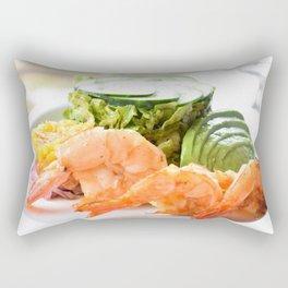 Shrimp! Rectangular Pillow