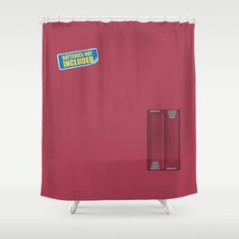 Batteries Not Included ~ Night Shadz Shower Curtain