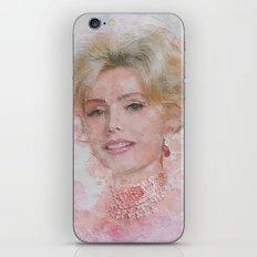 Zsa Zsa Gabor iPhone & iPod Skin