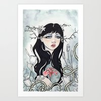 Sweet Sombre Art Print
