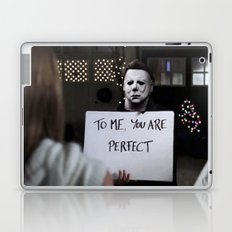 Michael Myers in Love Actually Laptop & iPad Skin
