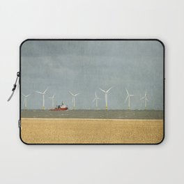 Scroby Sands Wind Farm, Great Yarmouth Laptop Sleeve