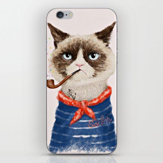 Sailor Cat V iPhone & iPod Skin