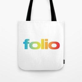 Folio Rainbow Tote Bag
