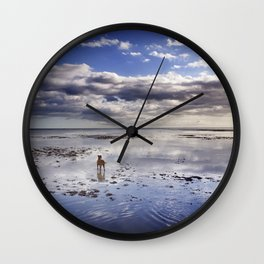 The Adventures Of A Solitary Dog. Wall Clock
