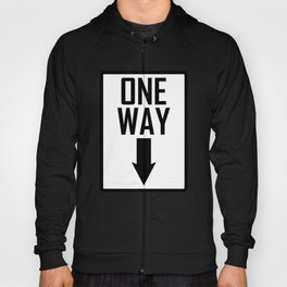 One way sign Hoody