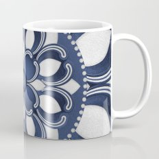 Spanish Flower in Blue Mug