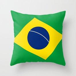 Team Brazil #brasil #selecao #bresil #brazil #russia #football #worldcup #soccer #fan #worldcup2018 Throw Pillow