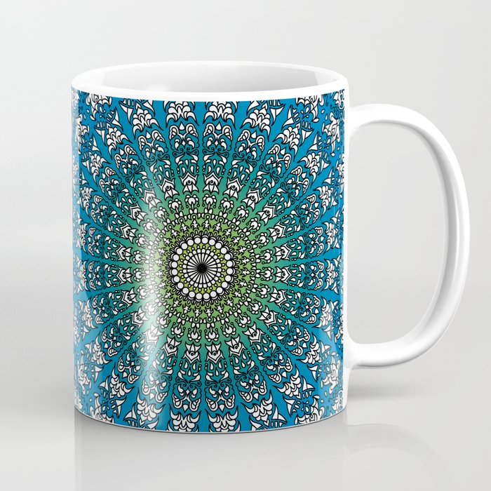 Harmonic Mandala Coffee Mug
