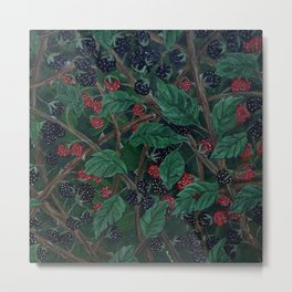 Blackberry Bonanza Metal Print