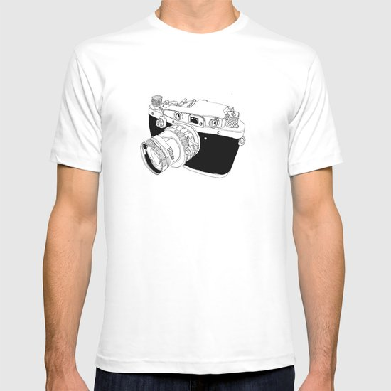 Camera Drawing T-shirt