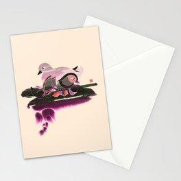 Pair of Mandarin Ducks Stationery Cards