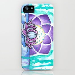Tranquility Lotus  iPhone Case