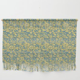 Scribble Ditsy Floral Wall Hanging
