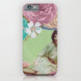 Florence Among Flowers iPhone Case