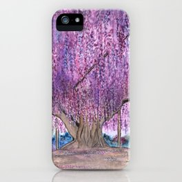 150+ Years Old Wisteria Tree – Sacred Tree Series iPhone Case