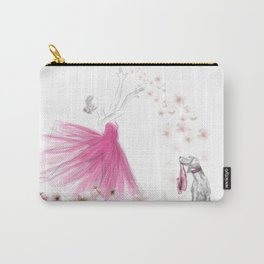 DANCE OF THE CHERRY BLOSSOM Carry-All Pouch