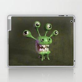 Four-eyed monster Laptop & iPad Skin