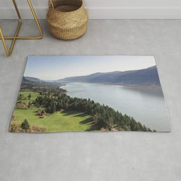 The Columbia River Gorge IV Rug