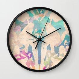 Rorshach Vacation Wall Clock