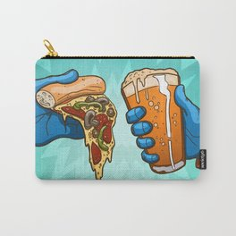 Pizza And Craft Beer Carry-All Pouch