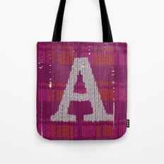 Winter clothes. Letter A III. Tote Bag