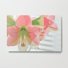 Delectable in Pink Metal Print