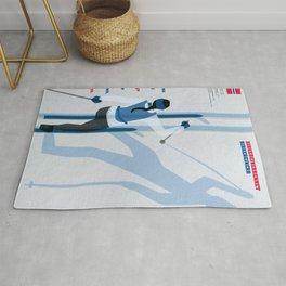 Birkebeinerrennet Birkebeiner Nordic Skiing by Dennis Weber ShreddyStudio Rug