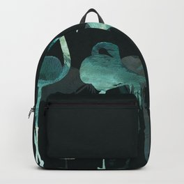Cold Flamingos in the Night Backpack