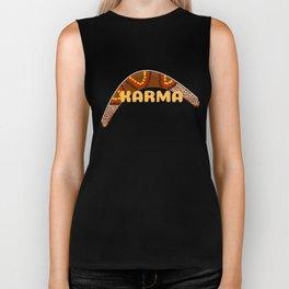 Karma Boomerang Biker Tank