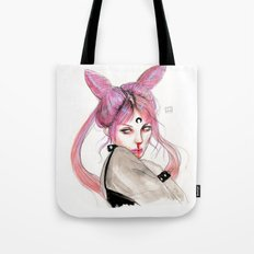 black lady Tote Bag