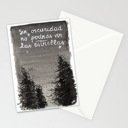Sin oscuridad Stationery Cards